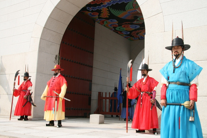 Guards at Gwanghwamun