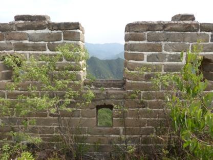 Windows along the wall
