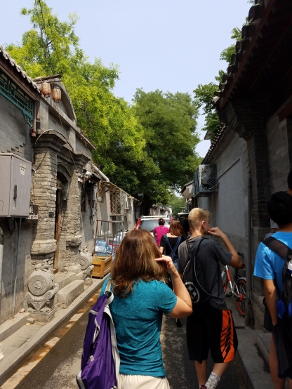 Hutong alley